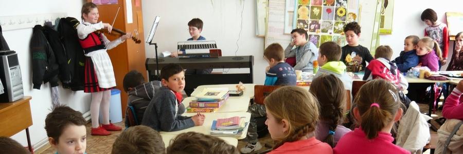 Iskola másképp 2015 - Zenehallgatás